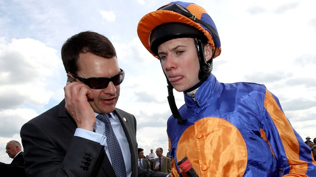 Joseph O'Brien partnered Homeland to victory at the Kerry track