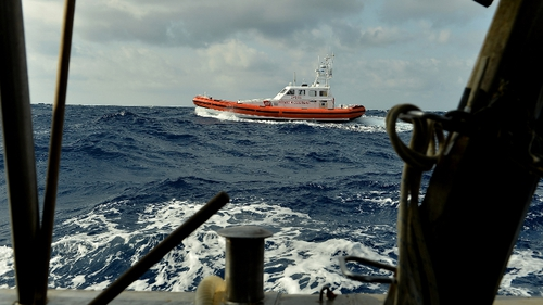 Search resumes for missing migrants off the island of Lampedusa despite bad weather conditions