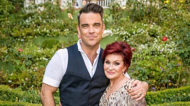 Robbie Williams and SHaron Osbourne
