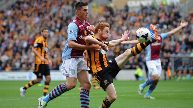 Ireland international Stephen Quinn is in line for his first appearance for Hull since 9 November