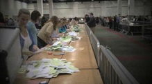 Timelapse of Dublin referendum count