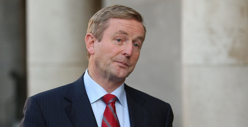 Enda Kenny said he was disappointed but accepted the referendum outcome