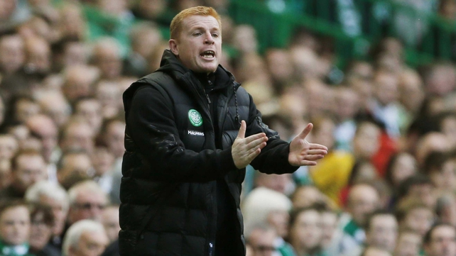 Neil Lennon was on the receiving end of some disgusting behaviour at Tynecastle