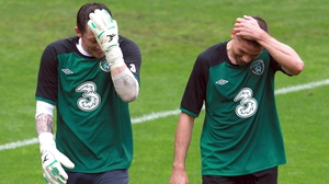 Keiren Westwood and Jon Walters will miss the clash with Germany