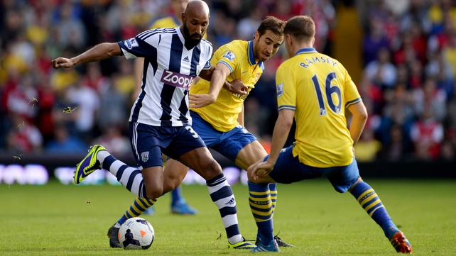 Wilshere rescues point for Arsenal at WBA