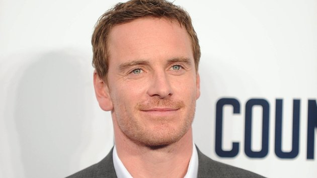 Michael Fassbender at a photocall for The Counsellor yesterday