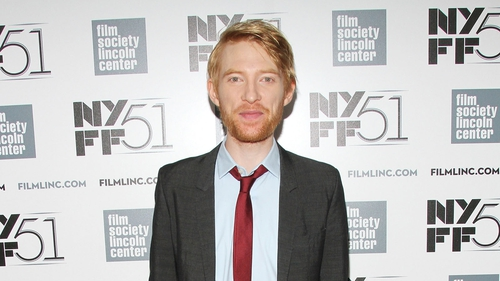 Domhnall Gleeson - was is New York last week for the premiere of his film About Time