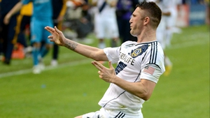 Robbie Keane was on the mark for the LA Galaxy