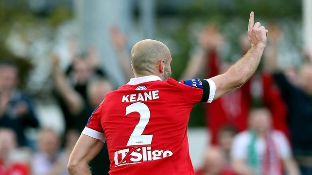 Alan Keane scored Sligo's opener as they proved too strong for the Students
