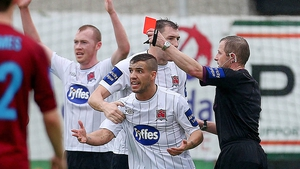 Anthony Buttimer unfortunately took centre stage in the FAI Cup semi-final