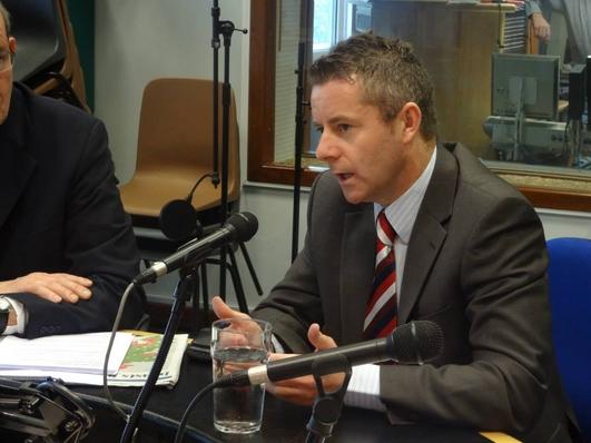 An Seanadóir Brian Ó Domhnaill, Fianna Fáil.