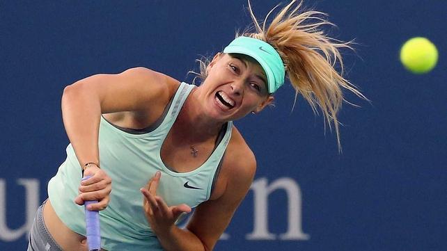 Maria Sharapova has won four grand slams in all