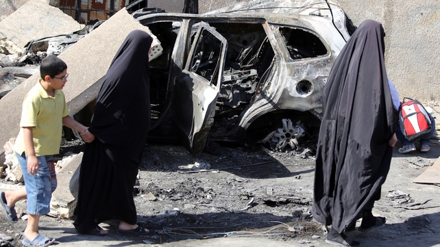 A surge of violence has killed more than 6,000 people across Iraq this year