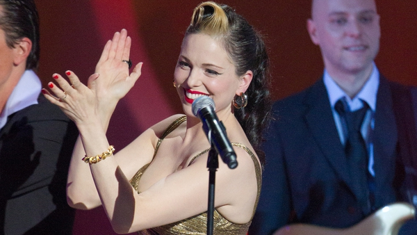 Imelda May said she was tongue tied after meeting actor Clint Eastwood