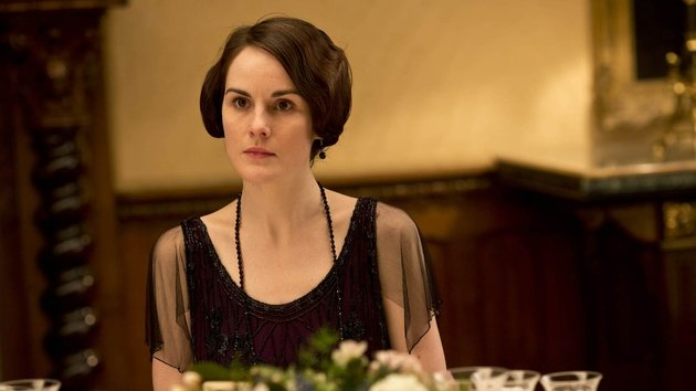 Downton Abbey's Dockery is up for Outstanding Lead Actress In A Drama Series at tomorrow's 66th Emmy Awards