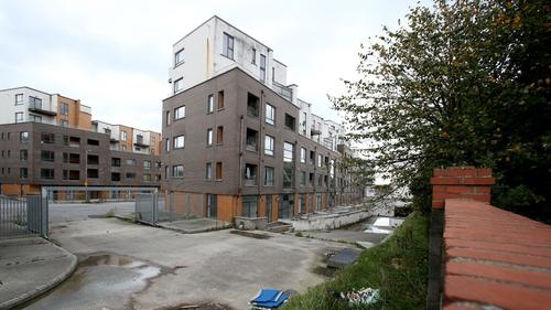 184 apartments were rebuilt at the north Dublin complex