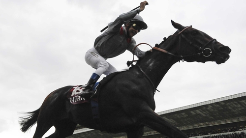 Owner Sheikh Joaan Al Shaqab saw his colours carried to victory in Sunday's Arc as Treve ran out an emphatic winner