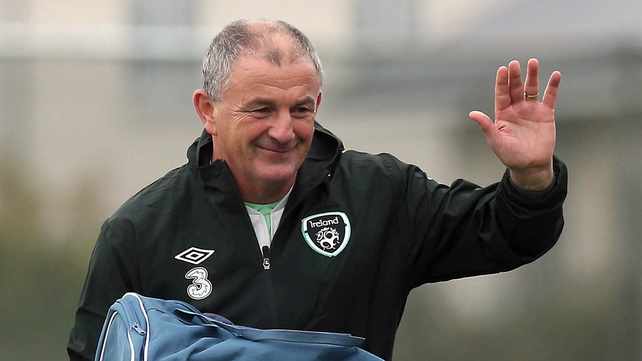 Noel King is back in the day job with the Ireland Under-21s