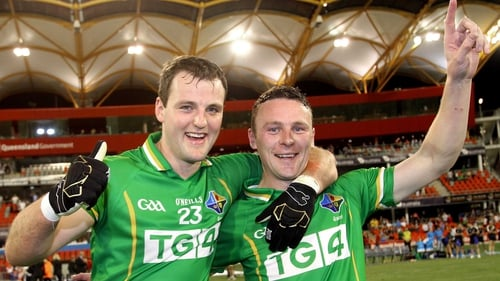 Captain Michael Murphy (l) may have to play a Donegal county final the day after the first Test