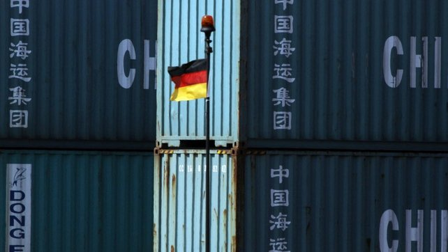 German industrial orders driven by strong demand for goods from abroad