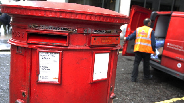 Britain sold a 60% stake in Royal Mail at 330 pence per share last October