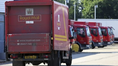 Royal Mail shares jump almost 40% on the London stock exchange at one stage today