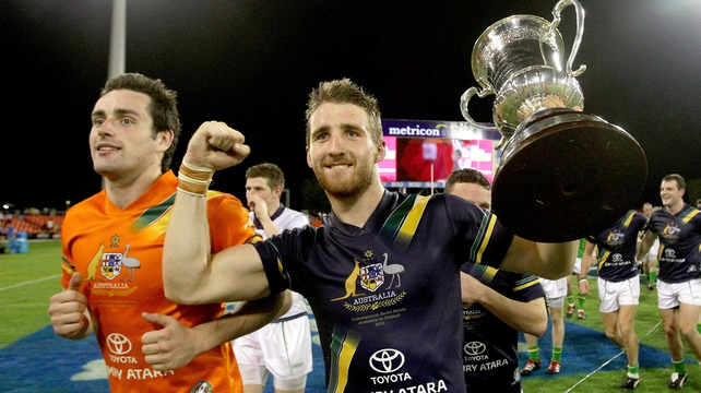 Zach Tuohy (Carlton / Laois) is the only AFL-based player in the panel