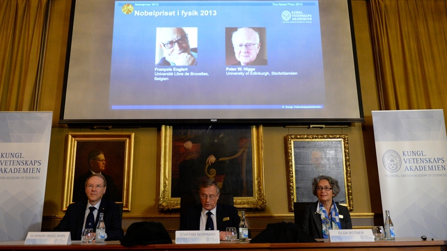 The Nobel Foundation announced the award at a ceremony this morning