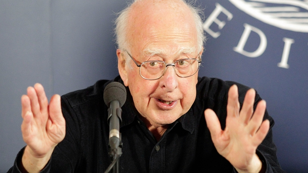 Britain's Peter Higgs devised his theory in 1964
