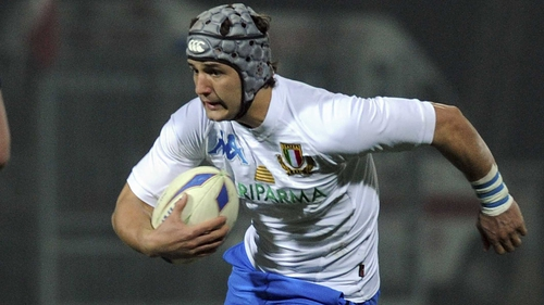 Centre Michele Campagnaro has earned a call-up to the senior squad