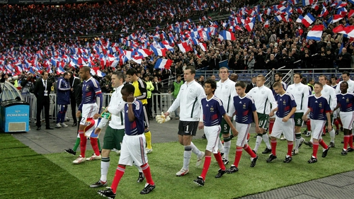 Flashback to 18 November 2009 when Ireland played France in that controversial match in Paris