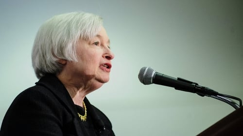 Janet Yellen said high unemployment in the US remained a problem for the economy