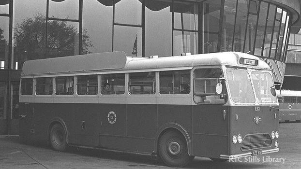 Single decker CIE bus 1970