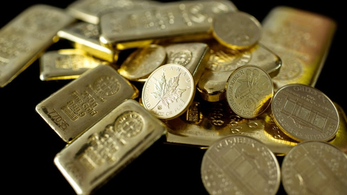 Gold prices hit a record high above $1,900 in 2011 during the euro zone debt crisis