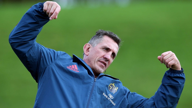 Rob Penney will leave Munster at the end of the season