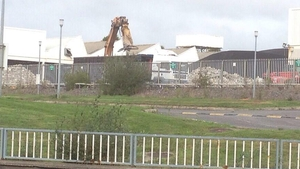 It is understood there are plans to build office space on the site of the Waterford Crystal plant