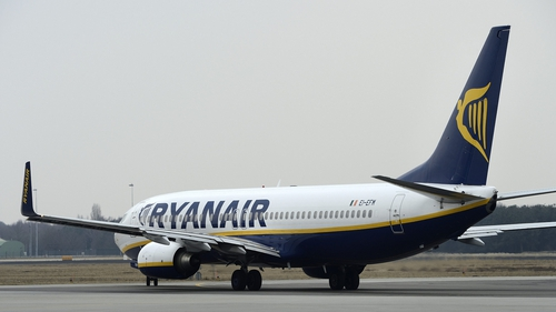 Ryanair said all airlines were asked to reduce their schedules by 30%