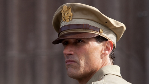Matthew Fox plays General Fellers, who walks a thin line between duty and his abiding love for the young, demure teacher, Aiya