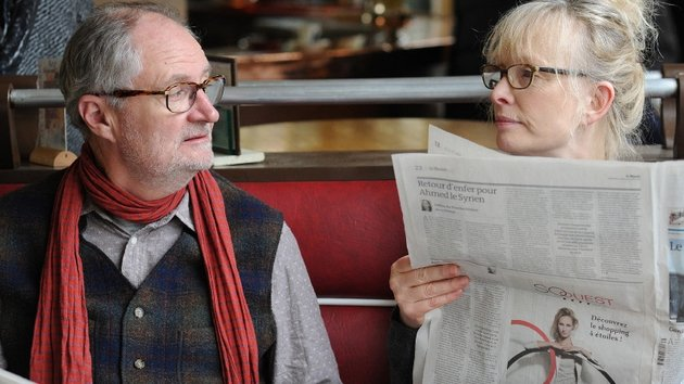 They bicker a lot, but have kept a youthful spirit of irreverence - Jim Broadbent and Lindsay Duncan in Le Week-End