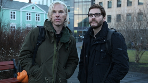 Benedict Cumberbatch and Daniel Brühl as WikiLeaks odd couple, Julian Assange and Daniel  Domscheit-Berg