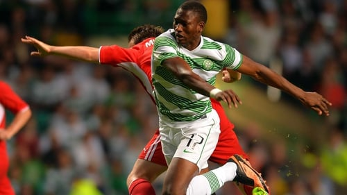 Amido Balde was on the scoresheet for the Scottish champions