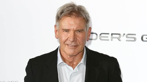 Harrison Ford - is promoting Ender's Game