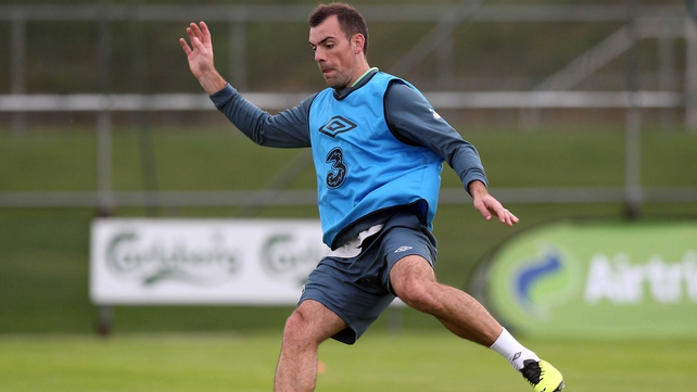 Darron Gibson hopes to be part of the Irish engine room when they tackle Germany in Cologne