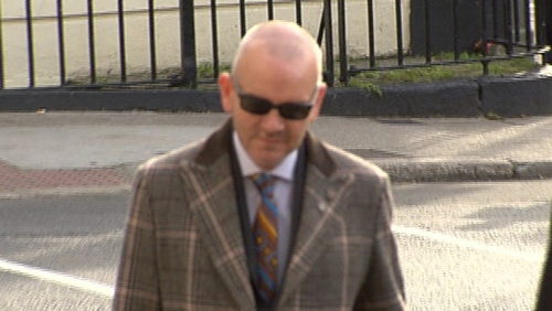 Former solicitor Thomas Byrne has denied the charges