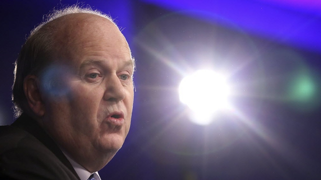 Finance Minister Michael Noonan says deficit will fall to 4% by the end of the year