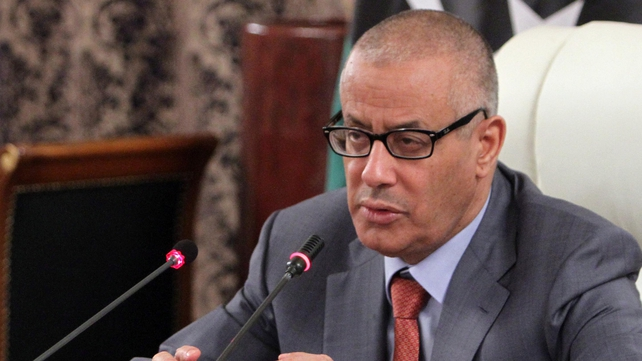 Libyan Prime Minister Ali Zeidan has warned public salaries may not be paid due to unrest