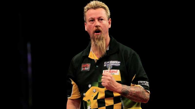 Simon Whitlock survived a major test of character to go through