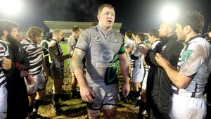 Michael Swift is back training for Connacht following a leg injury