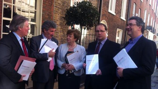 The five TDs launched their joint Budget proposals this morning