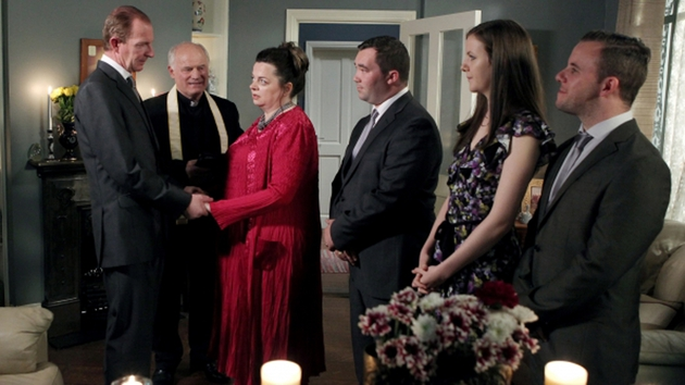 Vivienne and Paddy renew their vows